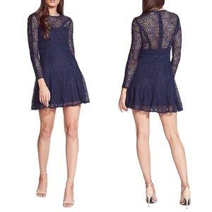 BARDOT | Tiana Lace Long Sleeve Mini Dress
